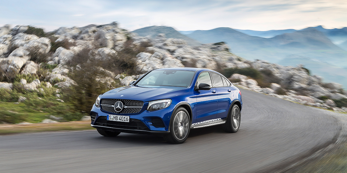 Тест-драйв Mercedes-Benz GLC Coupe: Быстрота реакции
