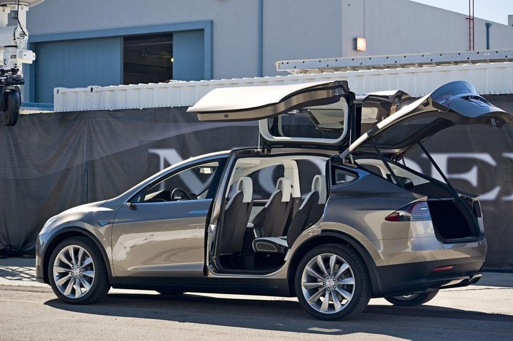 Технические характеристики Tesla Model X
