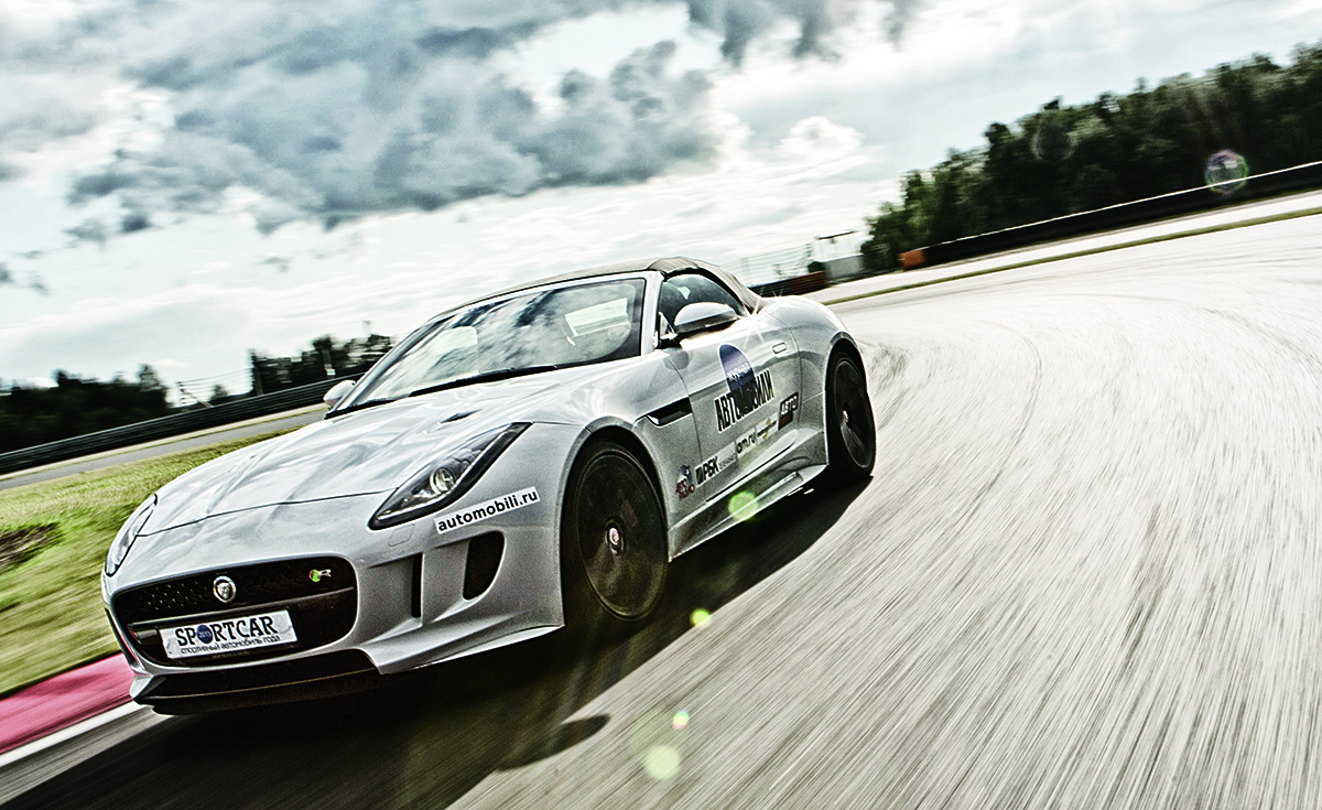 Тест-драйв Jaguar F-Type R AWD: Мчись, рулись, рычи