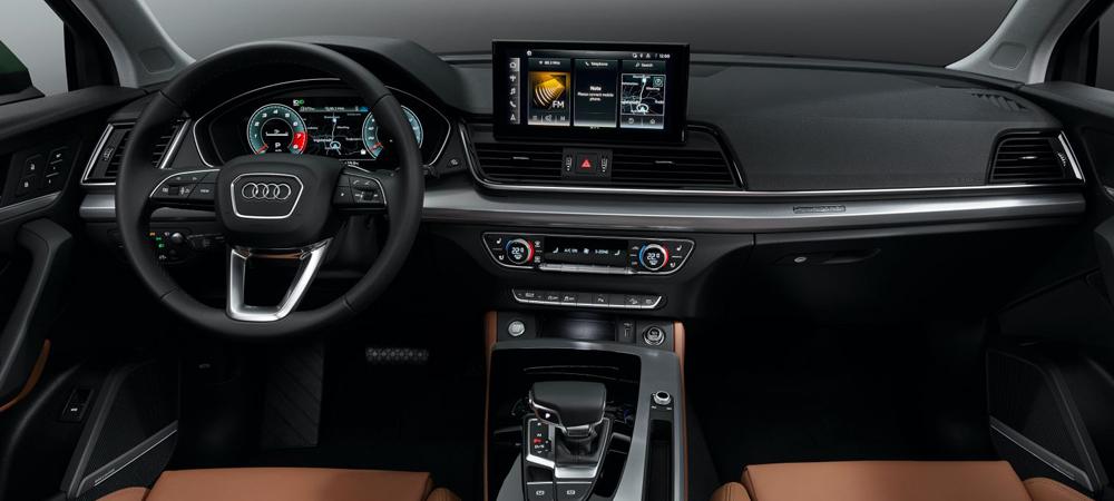 Audi Q5 обновили впервые за четыре года