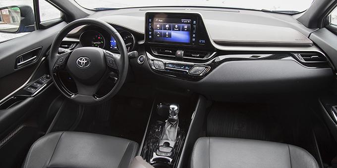 Toyota C-HR: Приджучить парнишку