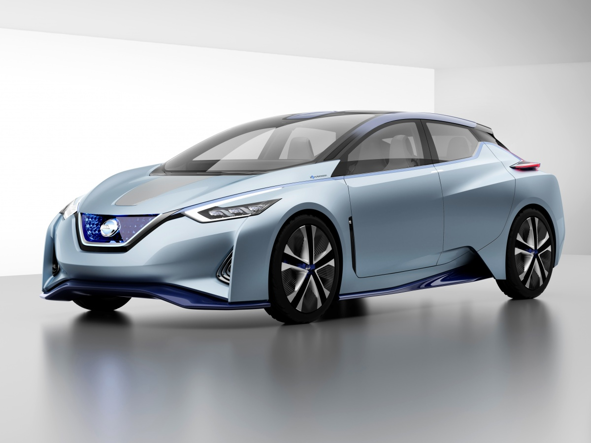 Nissan Leaf-2: карбоновый, автономный, индуктивный