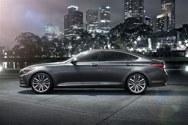 У Mercedes-Maybach появился корейский конкурент — Genesis G90