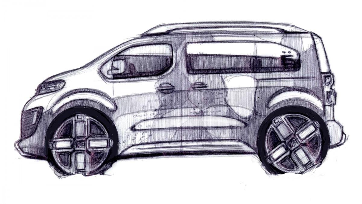 Ситроен подготовил Spacetourer 4X4 Concept