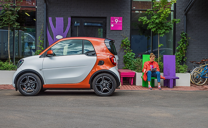smart ForTwo Coupe new