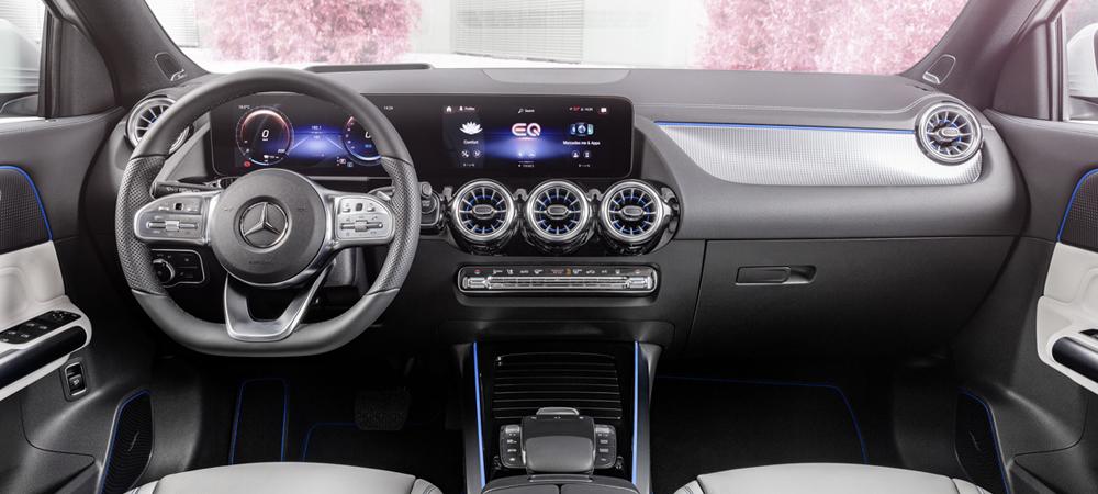 """Mercedes-Benz показал новый """"зеленый"""" кроссовер"""