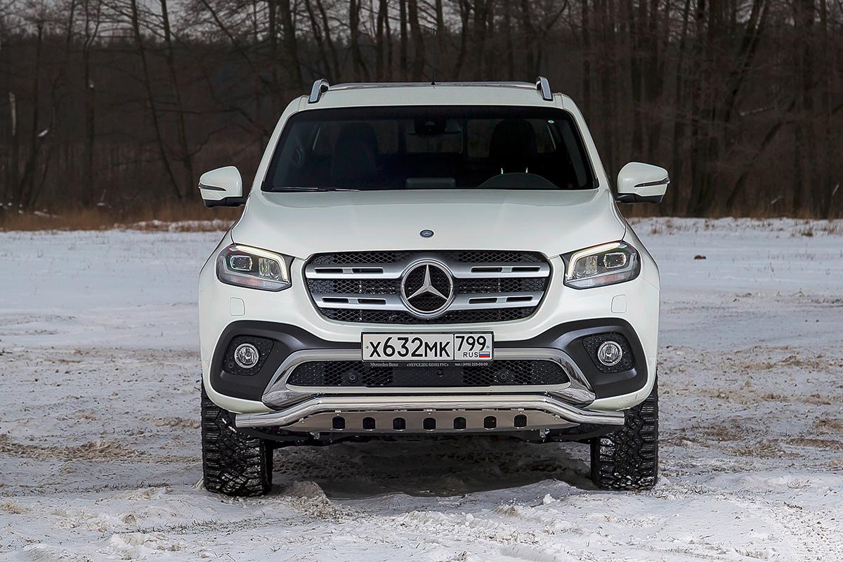 Топовый Mercedes-Benz X350d 4Matic: Щеголь на миллион