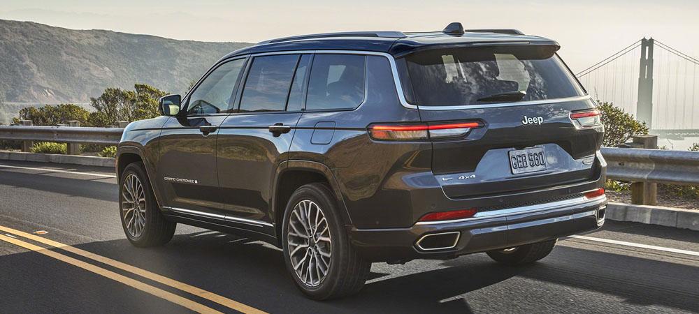 Новинка от Jeep: представлена новая генерация Grand Cherokee