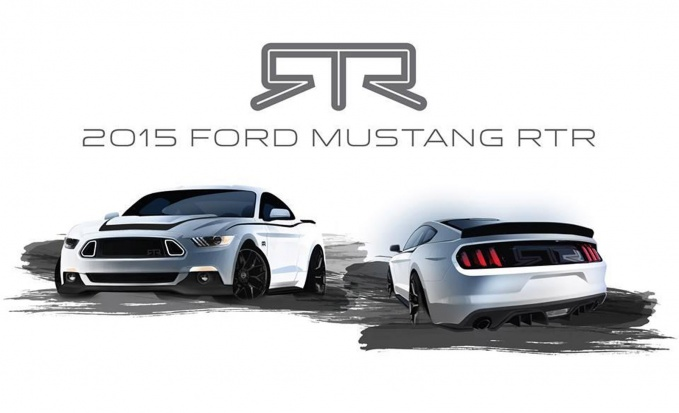Ford Mustang в обвесе RTR