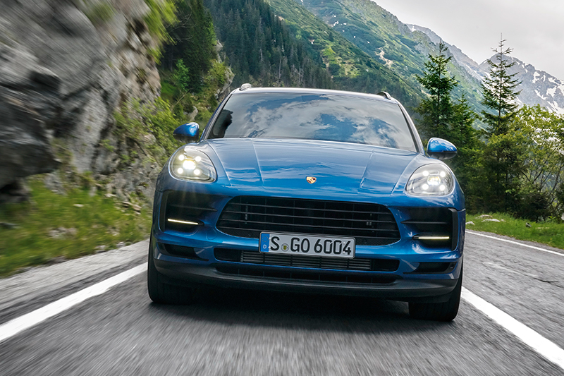 Porsche Macan после рестайлинга: Тигр, научи меня!