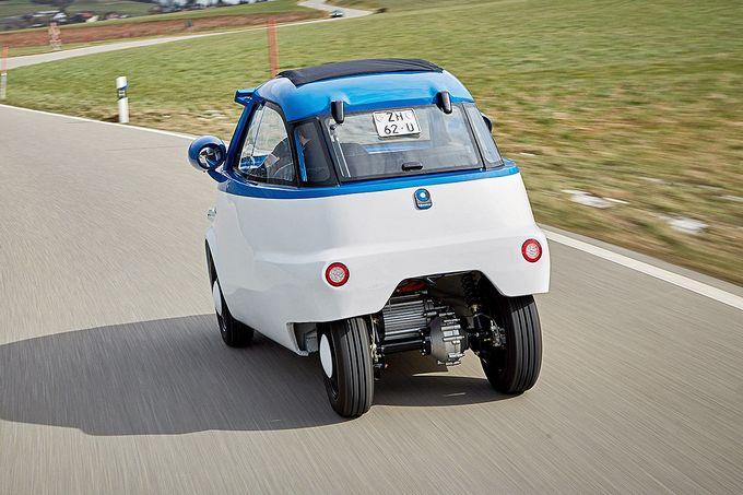Представлена реинкарнация микрокара БМВ Isetta— электрокар Microlino