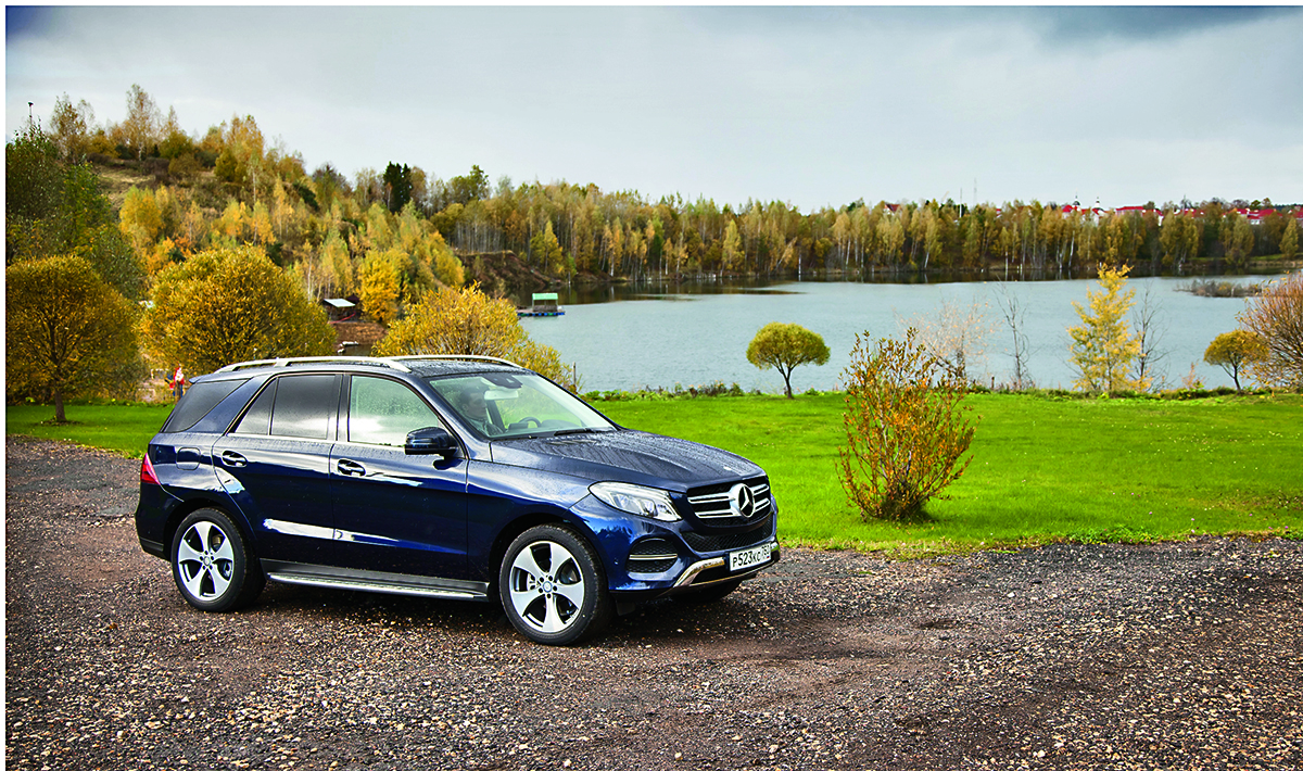 Тест-драйв Mercedes GLE 350D