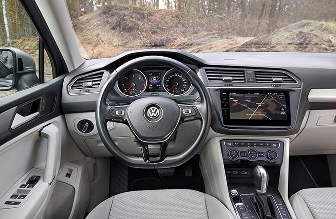 Volkswagen Tiguan Offroad: Дорогие лошади