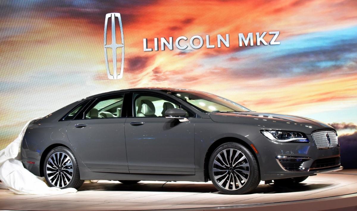 e22a9acc Рестайлинговый Lincoln MKZ поступит в продажу в США летом 2016 года