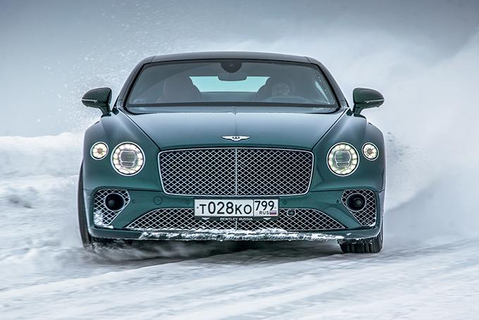 Bentley Continental GT: Старикам тут не место
