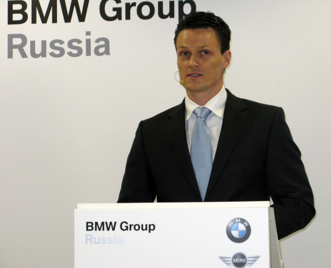 Кристиан Кремер, президент BMW Group Russia