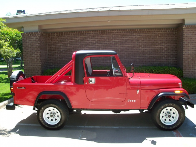 Jeep CJ-8 Scrambler (1981–85)