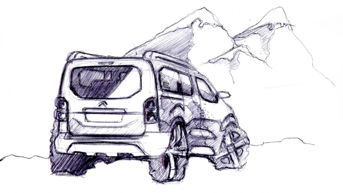Ситроэн подготовил Spacetourer 4X4 Concept
