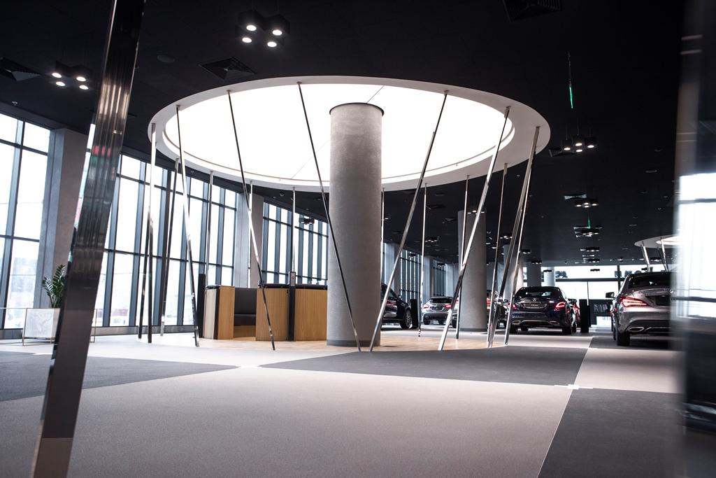 Открытие нового дилерского центра «Мерседес-Бенц Авилон Легенда