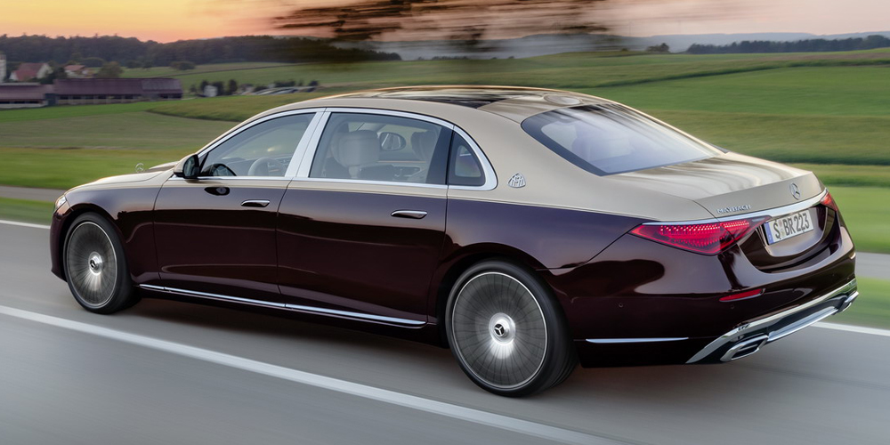 Самый крутой Mercedes-Benz: представлен новый Maybach S-Class