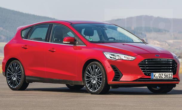 Форд Focus обновленного поколения показали нафото