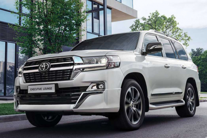 Внедорожник Toyota Land Cruiser 200 обзавелся обновленной спецверсией