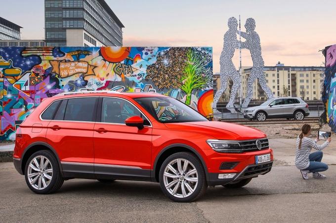 Фольксваген  выпустил пятимиллионный VW  Tiguan