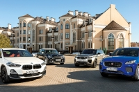 Большой тест: BMW X2, Jaguar E-Pace, MINI Countryman, Range Rover Evoque