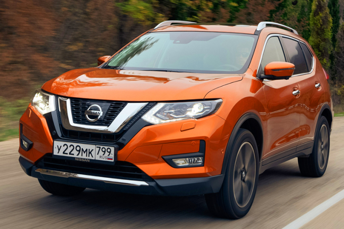 Nissan начал продавать X-Trail нового модельного года