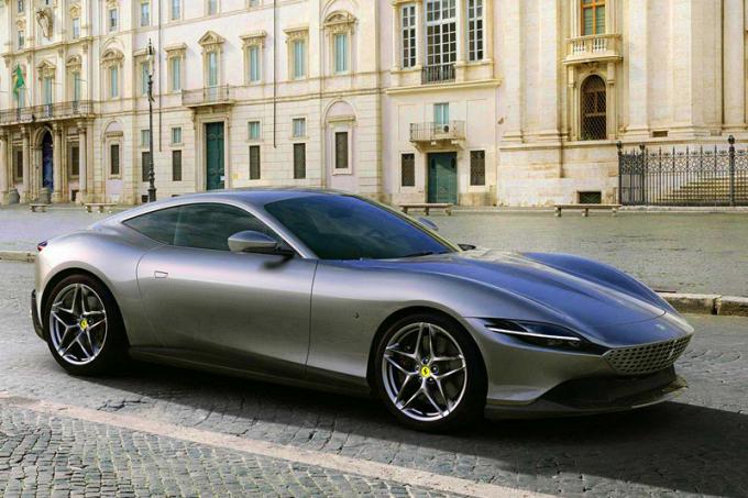 Новый Ferrari Roma: купе на базе Portofino