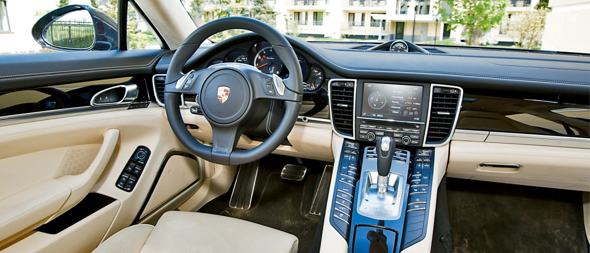 Тест Porsche Panamera Turbo Exucutive