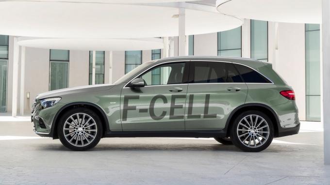 Mercedes-Benz представит водородный кроссовер в 2017 году