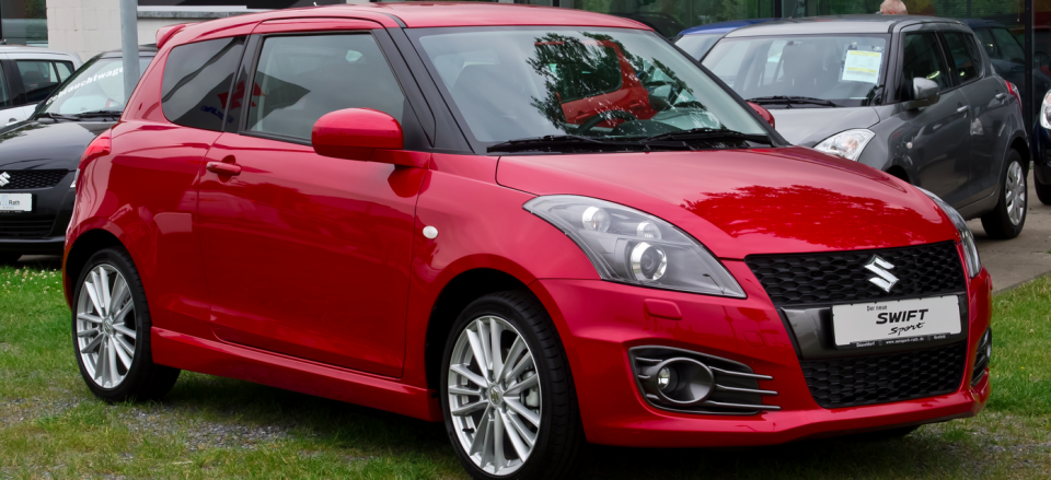 SUZUKI SWIFT: отзыв автовладельца: Александр