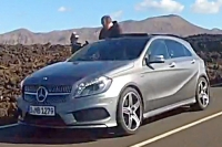 Mercedes A25 AMG нашли папарацци