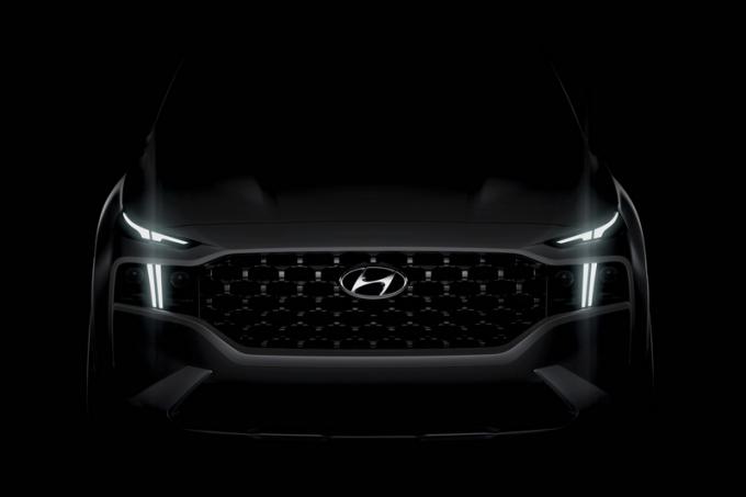 Hyundai опубликовала первые фото нового Hyundai Santa Fe