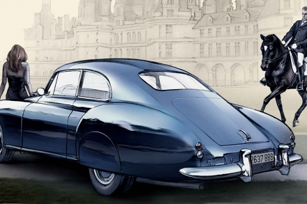 Bentley R-Type Continental H.J.Mulliner (1952) | Базовое тело