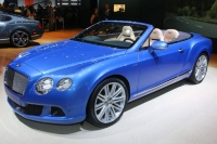 Детройт-2013: Bentley Continental GTC Speed