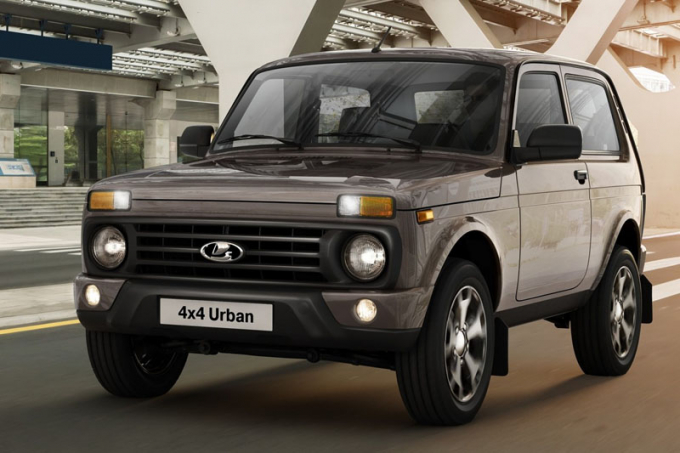 Названа стоимость обновленного внедорожника Lada 4x4