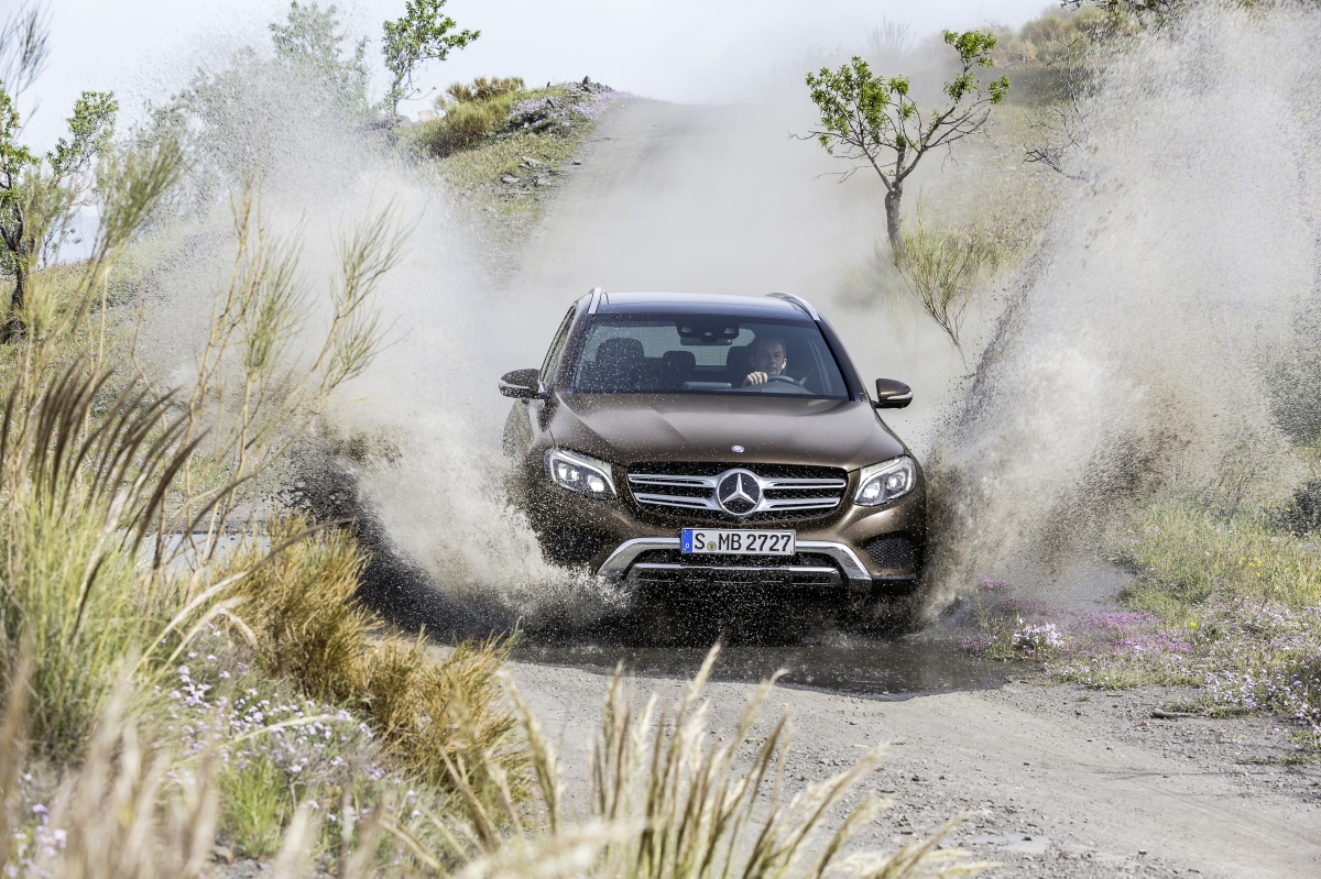 Тест-драйв Mercedes-Benz GLC: Многогранный
