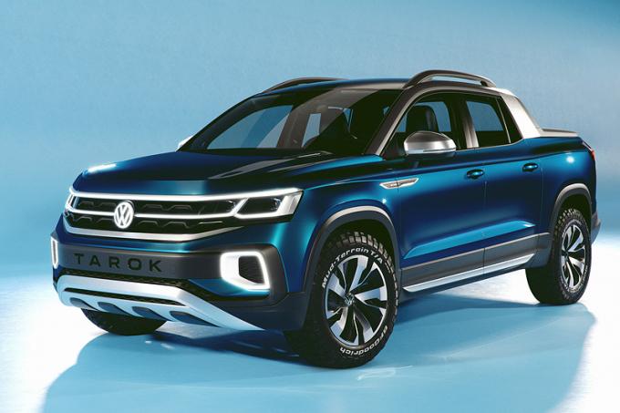 CAR.RU — Volkswagen запатентовал пикап на базе кроссовера Tiguan