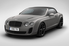 Женева-2011: Bentley Continental SS Ice Speed Record