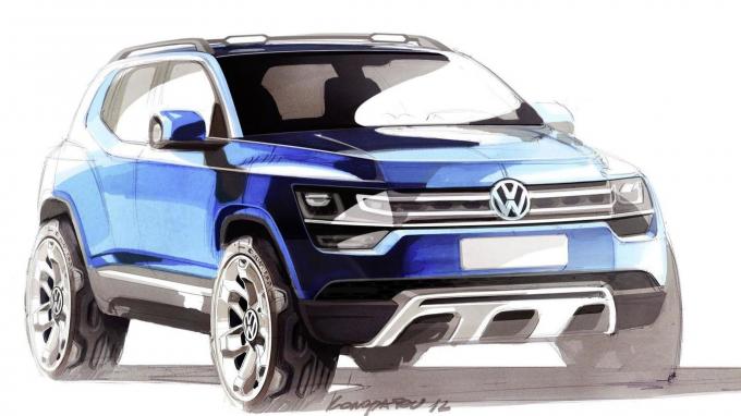 VW анонсировал выпуск кроссовера набазе Polo иT-Cross