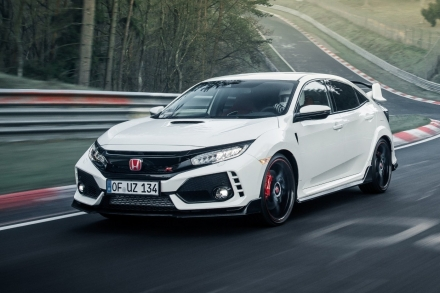 Honda Civic Type R получит гибридную силовую установку