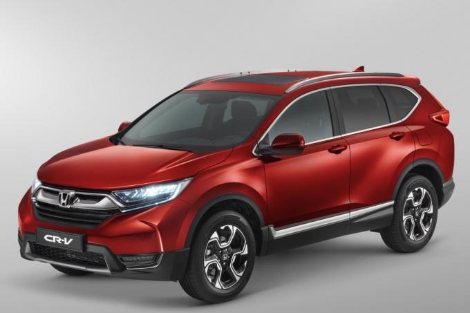 Хонда объявила рублевые цены кроссовера CR-V обновленного поколения