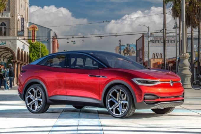 VW привёз вЛос-Анджелес концепты электрического кроссовера имикроавтобуса