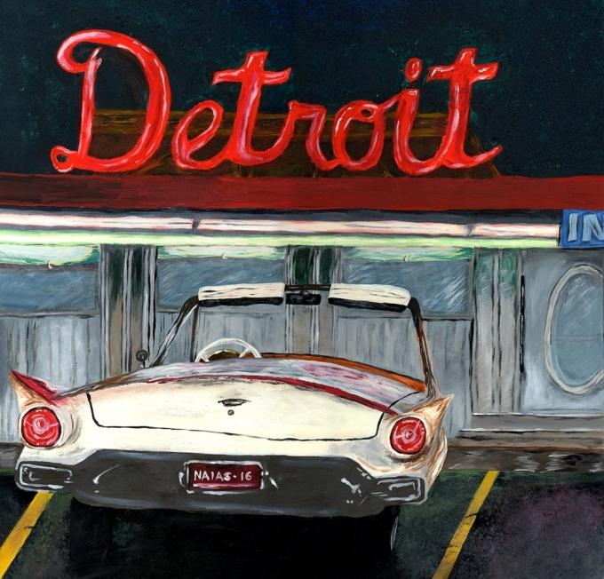 В прошлом году посетители автосалона в Детройте не обнаружили стендов  некоторых именитых брендов  Jaguar, Land Rover, smart, Tesla. ae89de18a2b