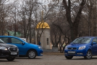Большой тест: Datsun on-DO, Ravon Nexia R3, Renault Logan
