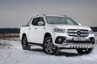 Топовый Mercedes-Benz X350d 4Matic: Щеголь на миллион