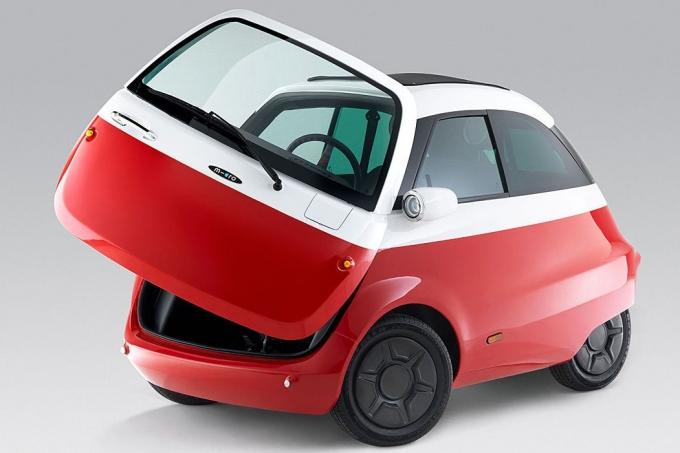 Представлена возрожденный БМВ Isetta— электрокар Microlino