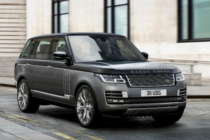 Ягуар  Лэнд Ровер  рассчитывает выпустить  неменее  чудный  2-дверный Range Rover